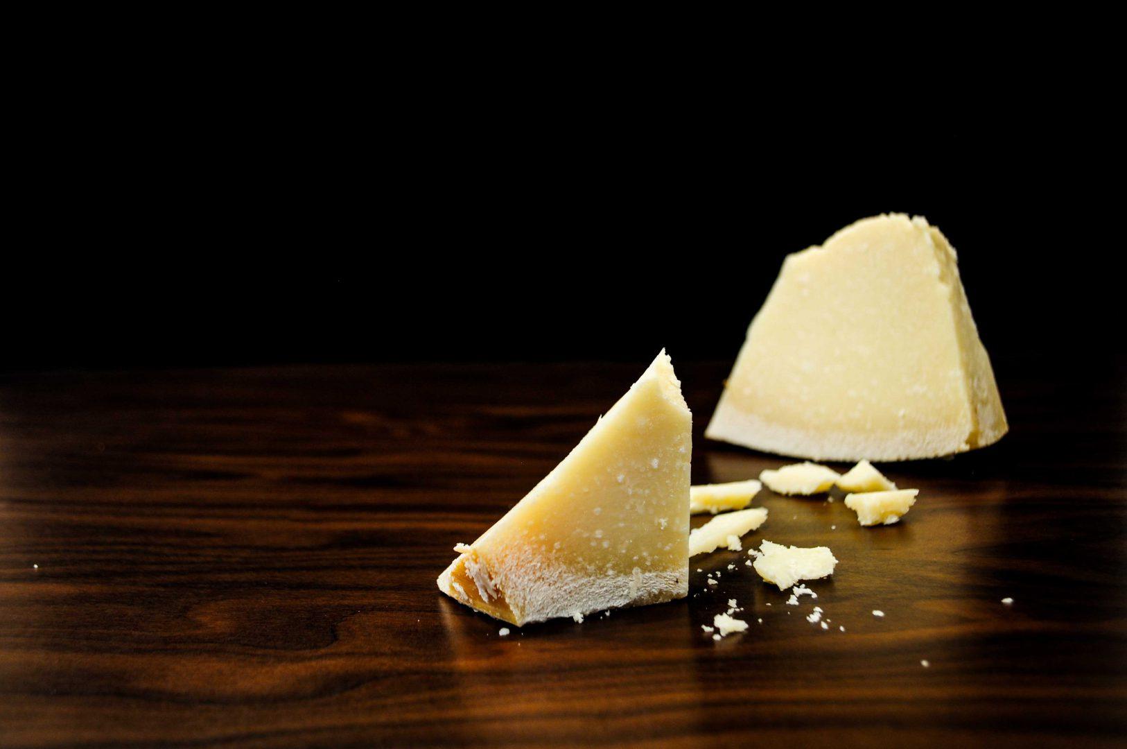 Parmesan Käse-italienische Feinkost