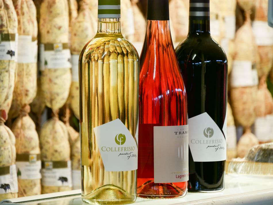 Salami & Wein