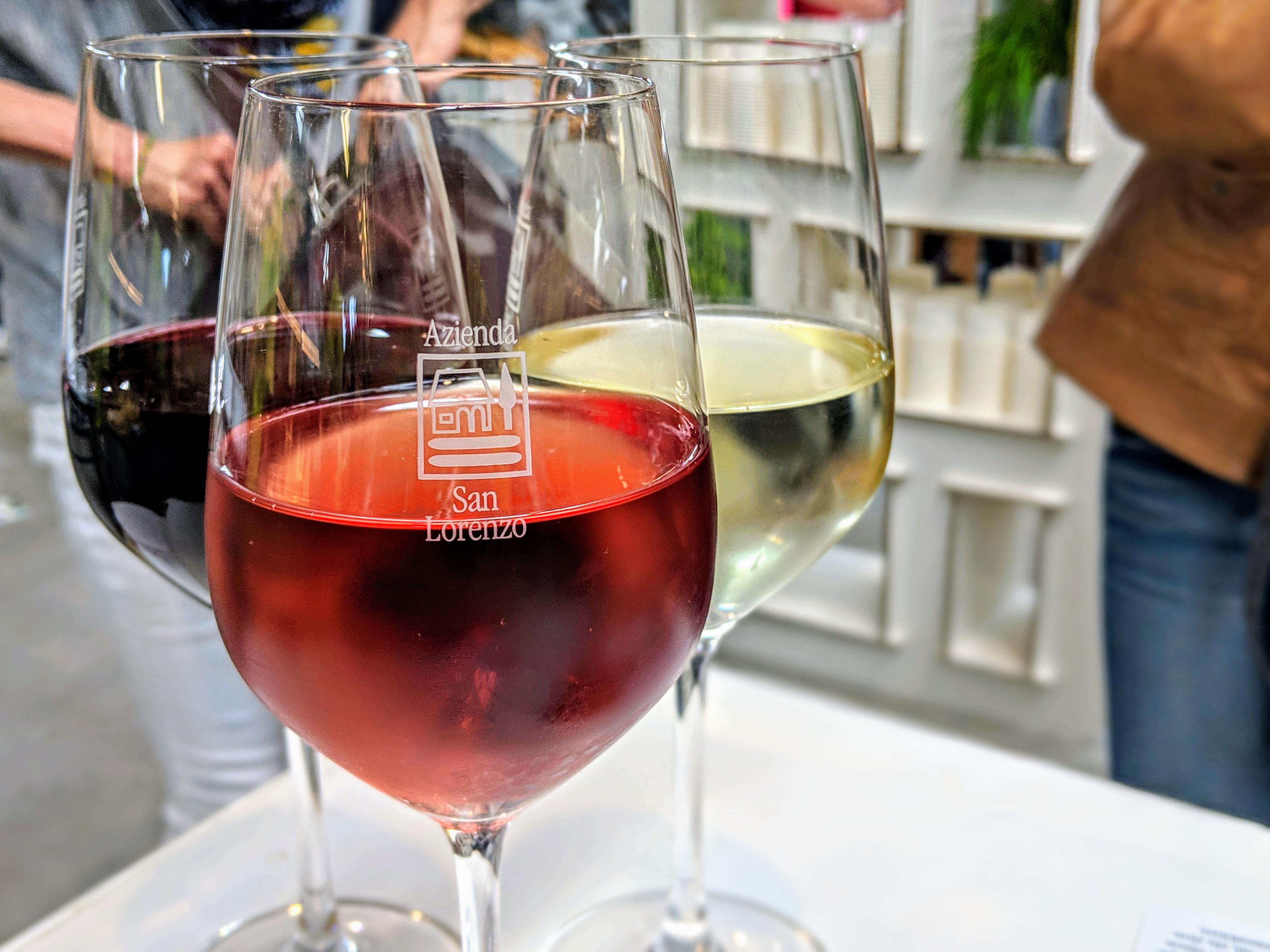 Rotwein Weißwein Roséwein Italien